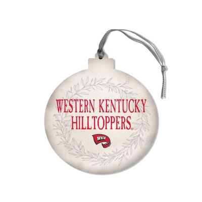 Western Kentucky Legacy Laurel's Round Ornament