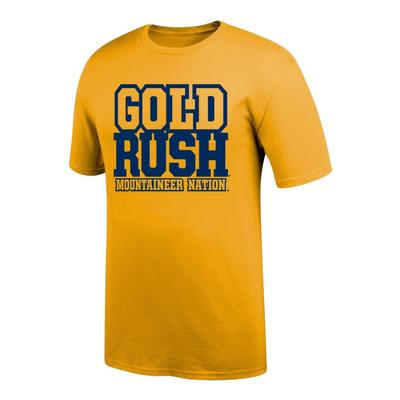 West Virginia Gold Rush Mountaineer Nation Tee Shirt
