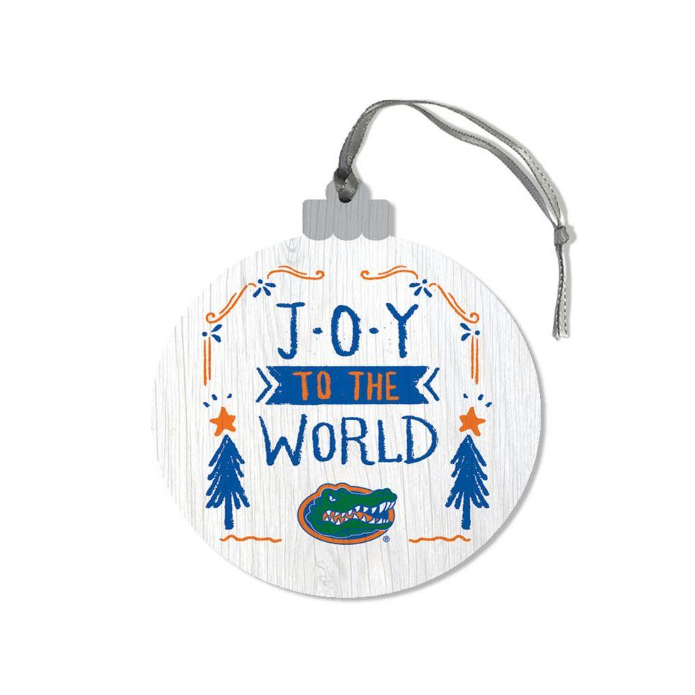 Florida Legacy Joy To The World Round Ornament