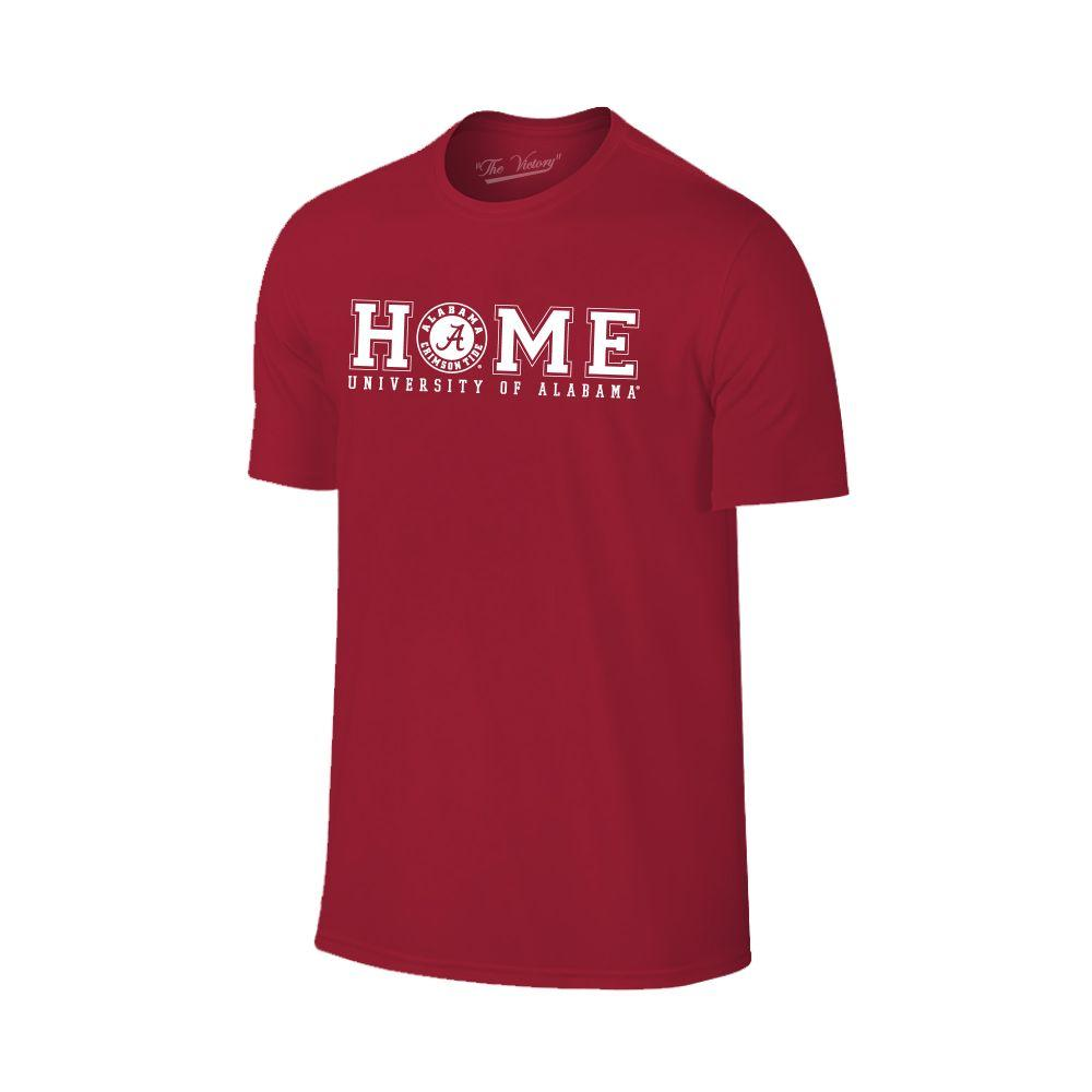 Alabama Women's Home With Badge Logo Tee Shirt