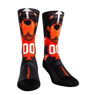 Tennessee Rock'em Hyperoptic Mascot Socks