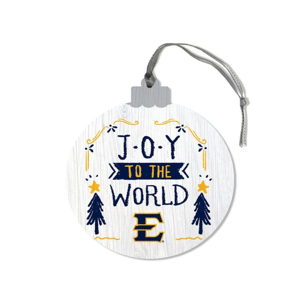 Etsu Legacy Joy To The World Round Ornament