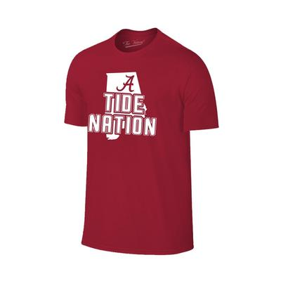 Alabama Tide Nation Tee Shirt