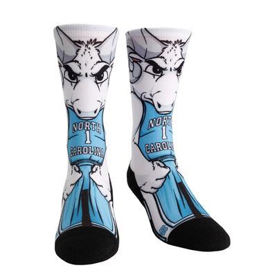 UNC Rock'em Hyperoptic Mascot Socks
