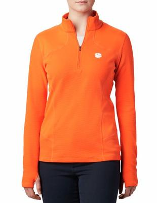 Clemson Columbia Women's Dream Ridge 1/2 Zip Pullover