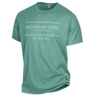Michigan State Women's ComfortWash Double Bar S/S Tee
