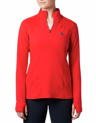 Georgia Columbia Women's Dream Ridge 1/2 Zip Pullover
