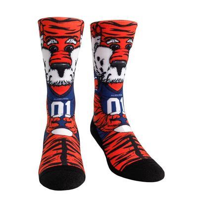 Auburn Rock'em Hyperoptic Mascot Socks