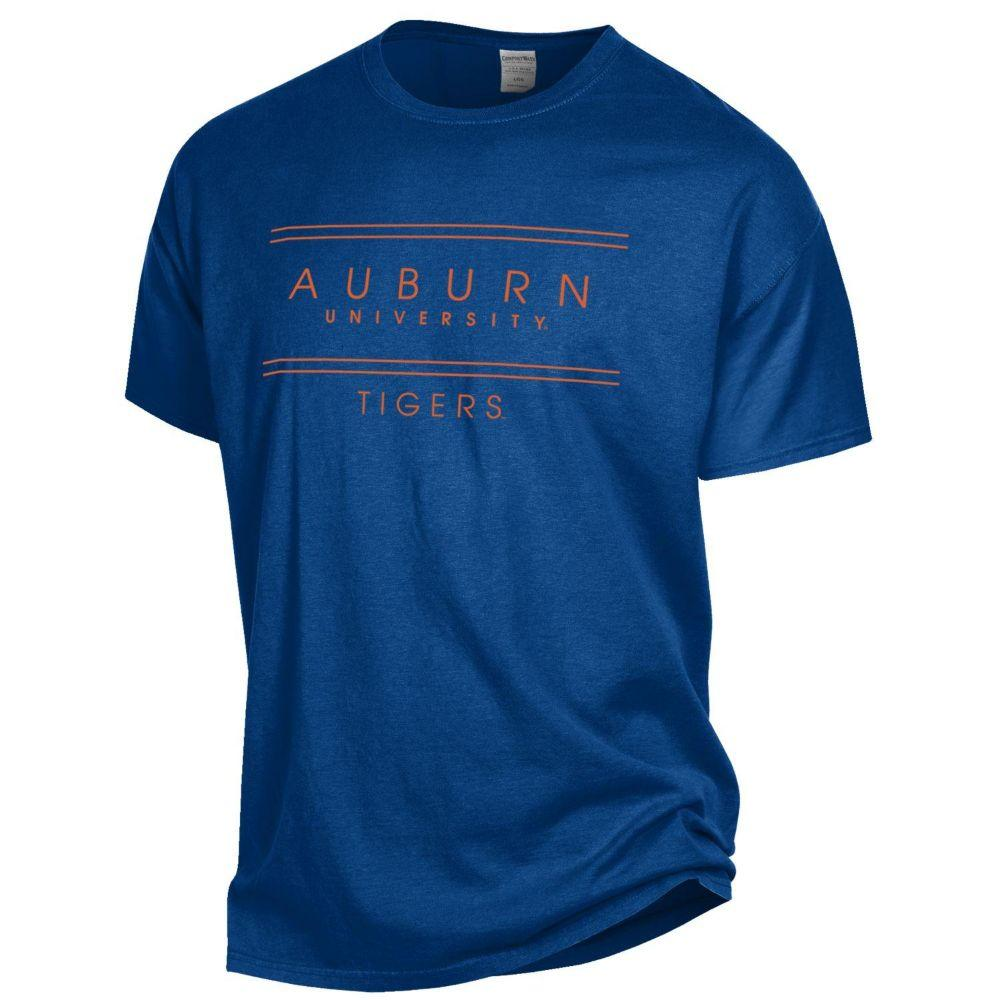 Auburn Women's Comfortwash Double Bar S/S Tee
