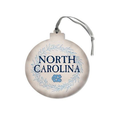 UNC Legacy Laurel's Round Ornament