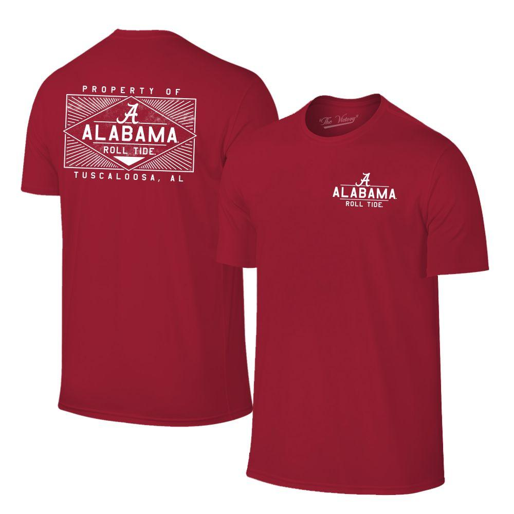 Alabama Women's Property Of Tuscaloosa Tee Shirt