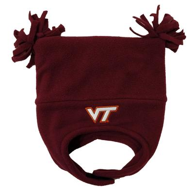 Virginia Tech Toddler Double Tassel Poly Hat