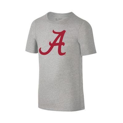 Alabama Youth Giant A Logo Tee Shirt