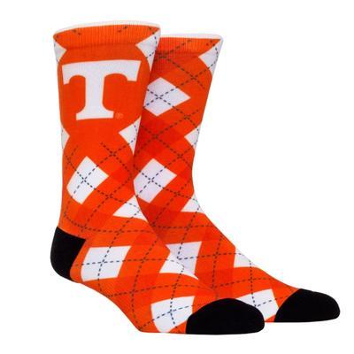 Tennessee Rock'em Hyperoptic Argyle Socks