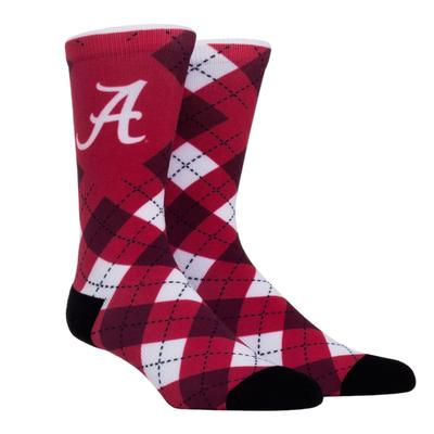 Alabama Rock'em Hyperoptic Argyle Socks