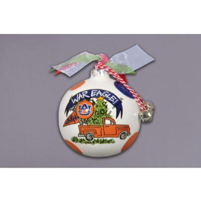 Auburn Magnolia Lane Truck Ornament