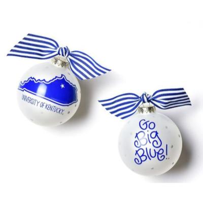 Kentucky Coton Colors UK State Ornament