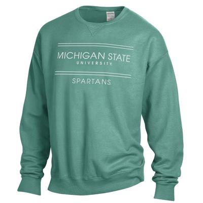 Michigan State ComfortWash Double Bar Sweatshirt