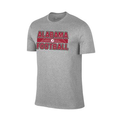 Alabama Laces Graphic Football Tee Shirt