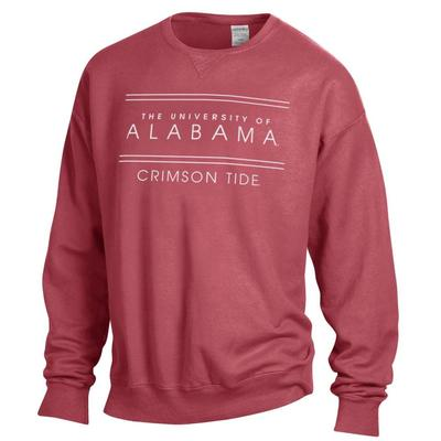 Alabama ComfortWash Double Bar Sweatshirt