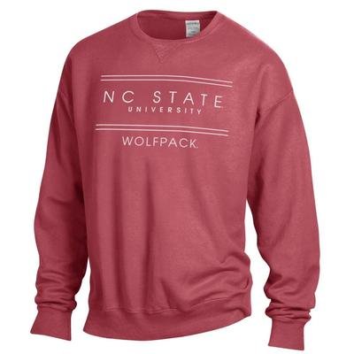 NC State ComfortWash Double Bar Sweatshirt