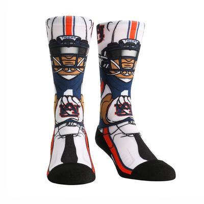 Auburn Rock'em Hyperoptic Playmaker Socks