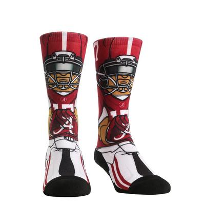 Alabama Rock'em Hyperoptic Playmaker Socks