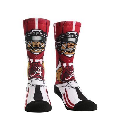 Alabama Rock'em Hyperoptic Playmaker Socks