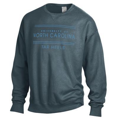 UNC ComfortWash Double Bar Sweatshirt
