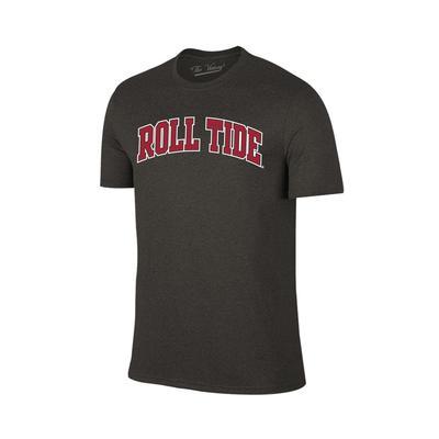 Alabama Arch Roll Tide Tee Shirt BLK_HTHR