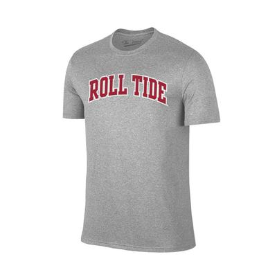 Alabama Arch Roll Tide Tee Shirt GREY