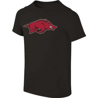 Arkansas Youth Giant Running Hog Logo Tee Shirt