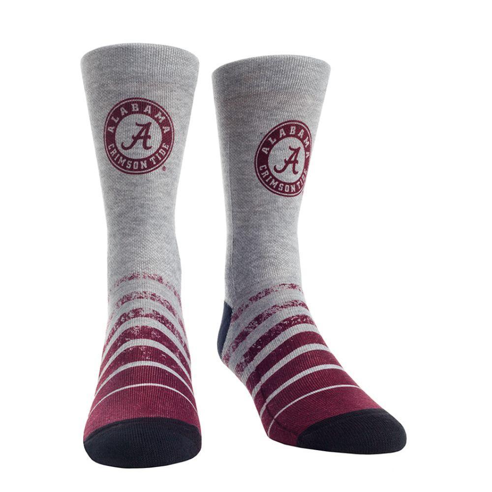 Alabama Rock ' Em Vintage Heather Socks
