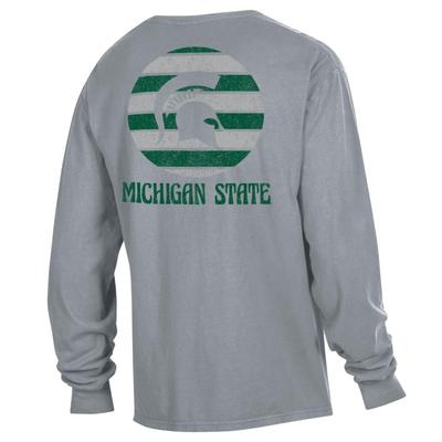 Michigan State ComfortWash Sunset L/S Pocket Tee