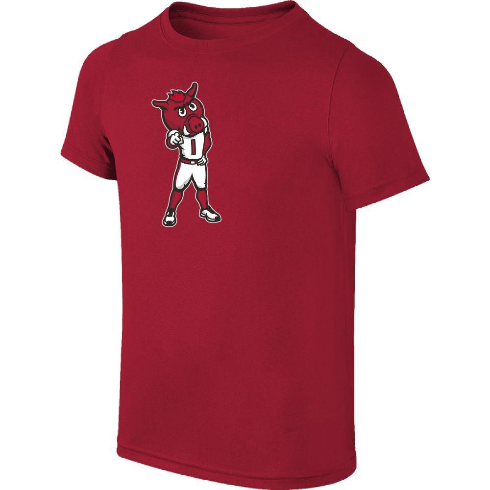 Arkansas Youth Standing Mascot Tee Shirt