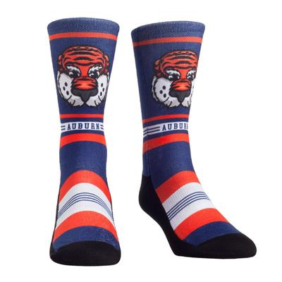 Auburn Rock'em Mascot Single Face Socks