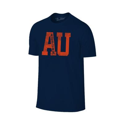 Auburn Distressed AU Tee Shirt