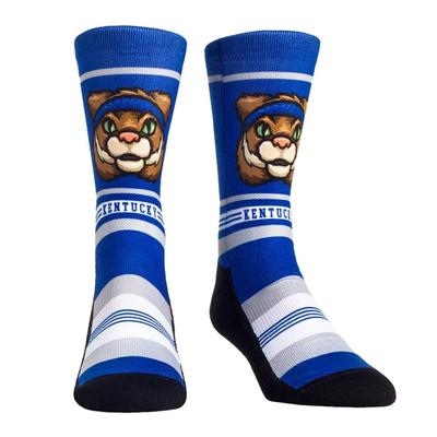 Kentucky Rock'em Mascot Single Face Socks