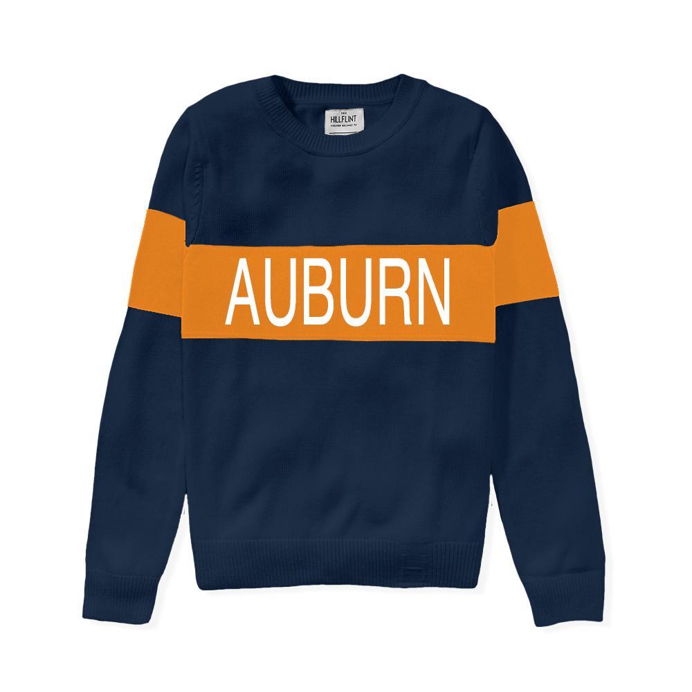 Auburn Hillflint Women's Stripe Sweater