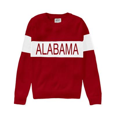 Alabama Hillflint Women's Stripe Sweater