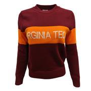 Virginia Tech Hillflint Women's Stripe Sweater