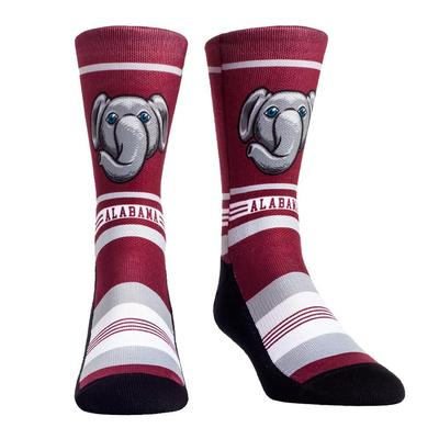 Alabama Rock'em Mascot Single Face Socks