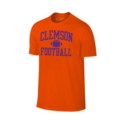 Clemson Arch Football Tee Shirt ORG