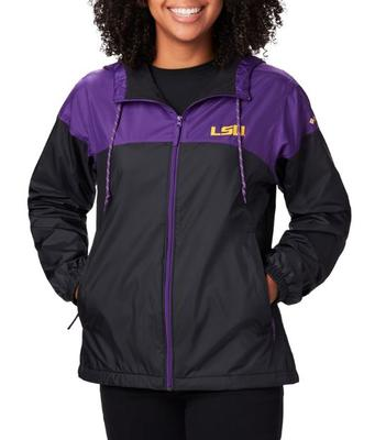 LSU Columbia Women's Fast Forward Lined Jacket
