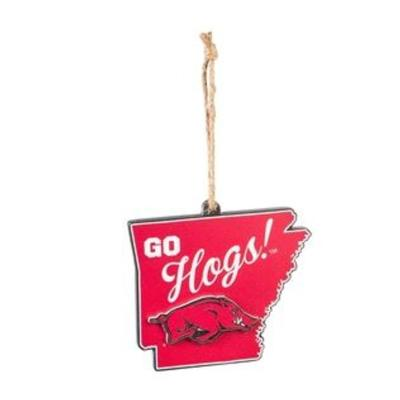 Arkansas Evergreen State Shaped Ornament