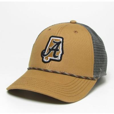 Alabama Legacy State Snap Back Hat
