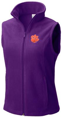 Clemson Columbia Women's Give And Go Vest - Plus Sizes