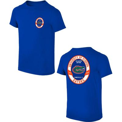 Florida Oval Gators Logo Tee Sheet
