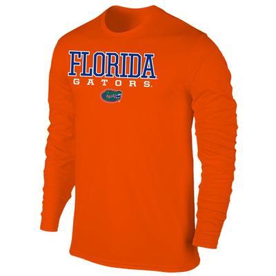 Florida Men's Gators with Logo L/S Tee Shirt