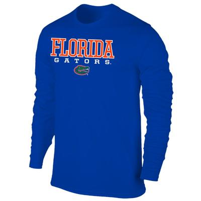 Florida Men's Gators with Logo L/S Tee Shirt